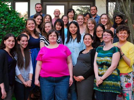 Spring 2014 team photo